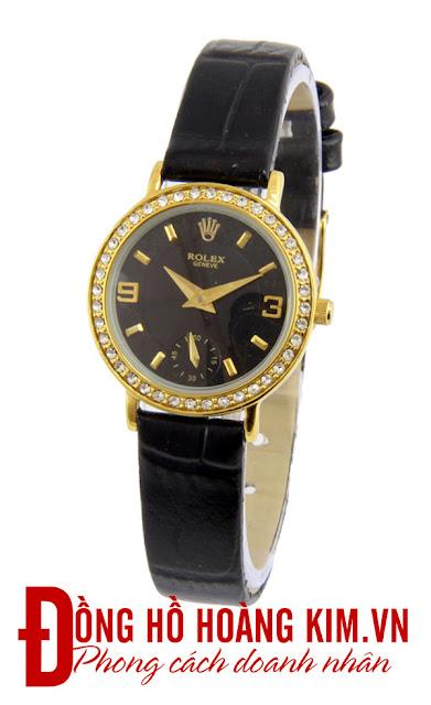 Đồng hồ nữ dây da Rolex