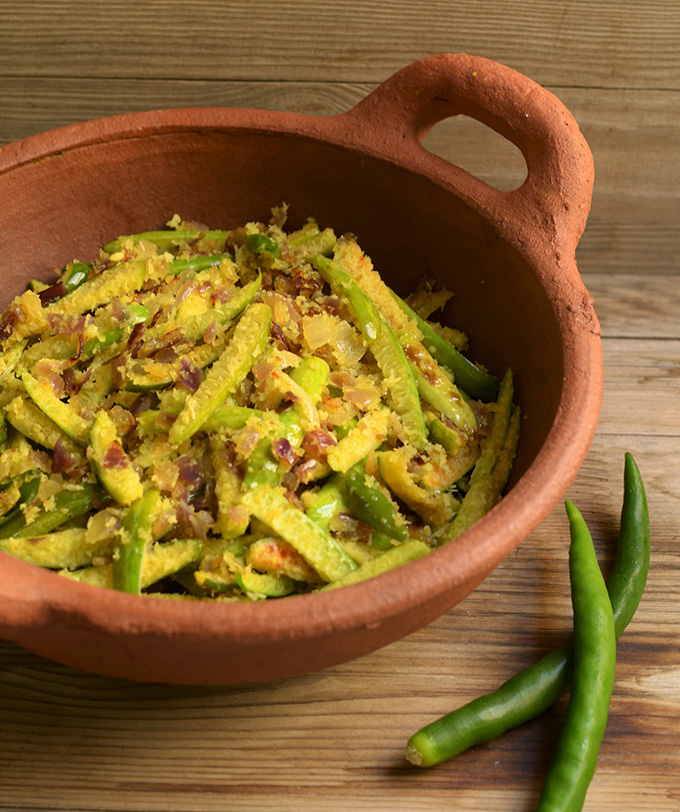 Ericas yummy food goan tendli ivy gourd vegetable with coconut forumfinder Image collections