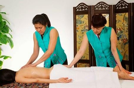 masaje a cuatro manos en Madrid