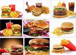 gambar makanan penyebab perut buncit
