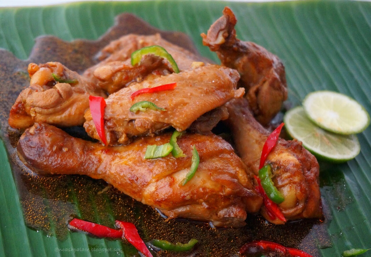 Spicy Sweet Soy Sauce Chicken ~ Cash Palace