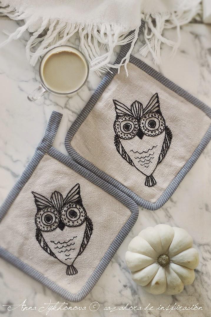 embroidery - anna tykhonova © cazadora de inspiración