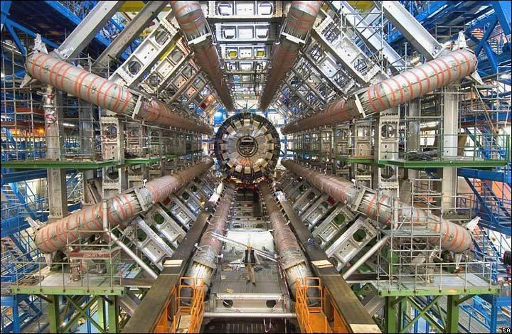 Mesin Waktu Large Hadron Collider Lhc Gunaya