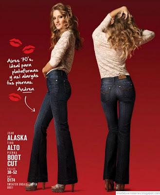 Markova Jeans por Andrea Frigerio. Moda invierno 2012.