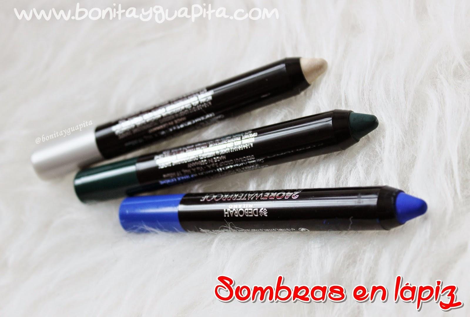 24 ore waterproof eyeshadow & pencil 01 08 09