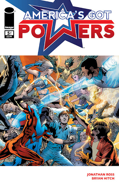 America's Got Powers # 5 - Jonathan Ross Bryan Hitch