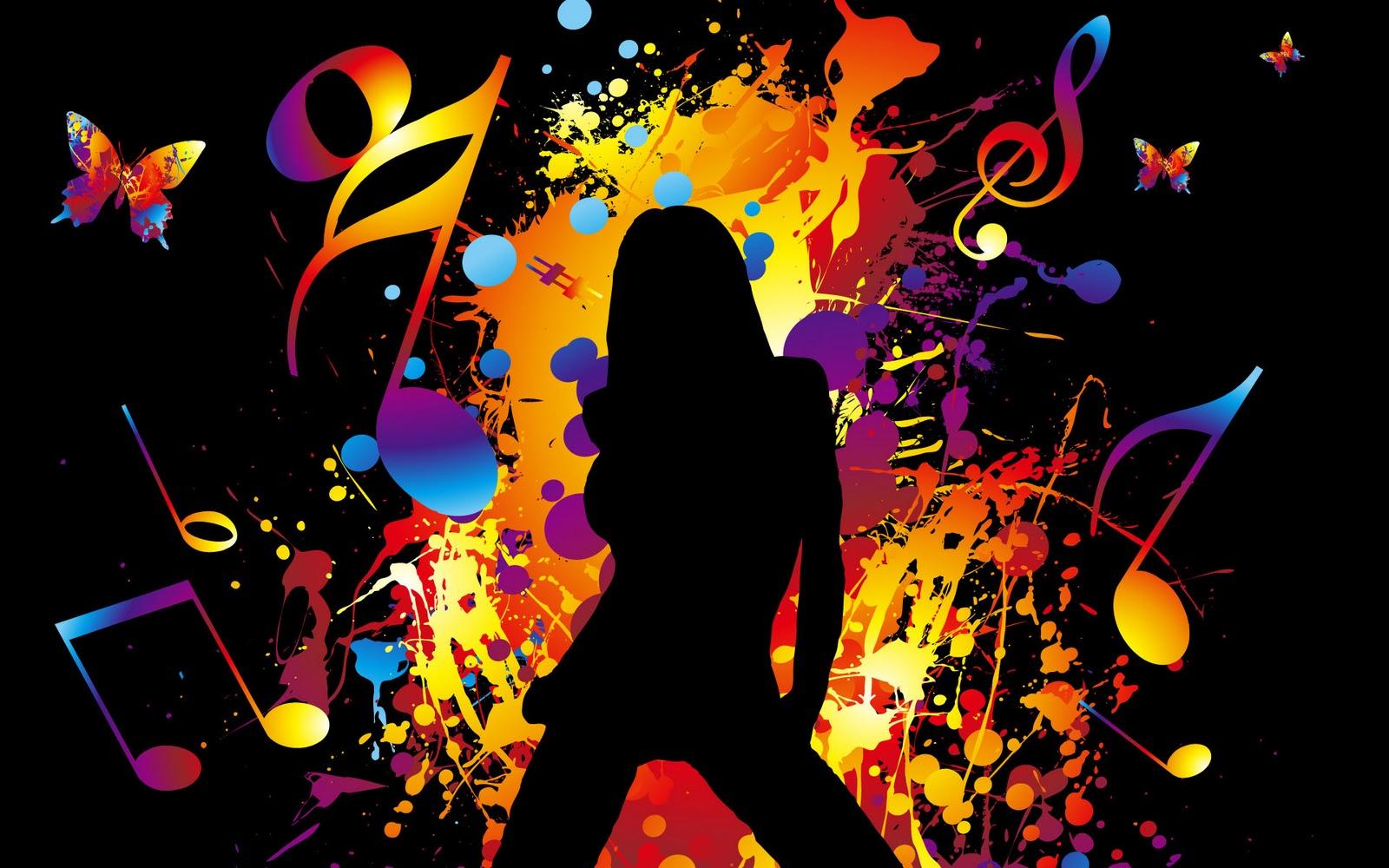 Good Wallpaper Music Party - Abstract-Women-party-wallpaper  HD_83641.jpg