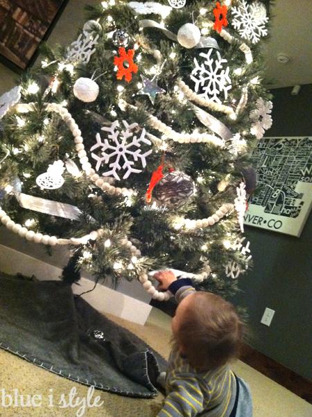 Baby-Proof Christmas Tree