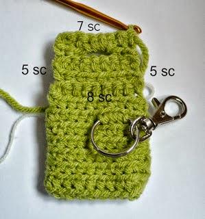 como fazer um porta níquel de crochê