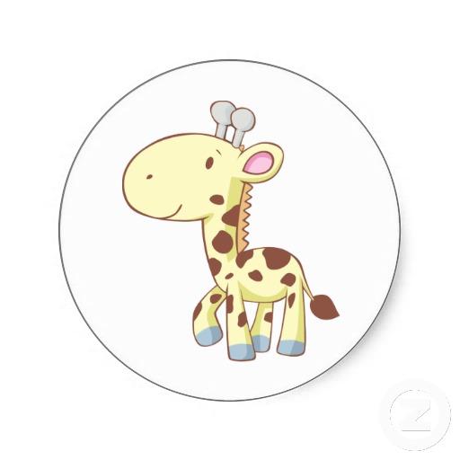 Jirafas bebé dibujos - Imagui