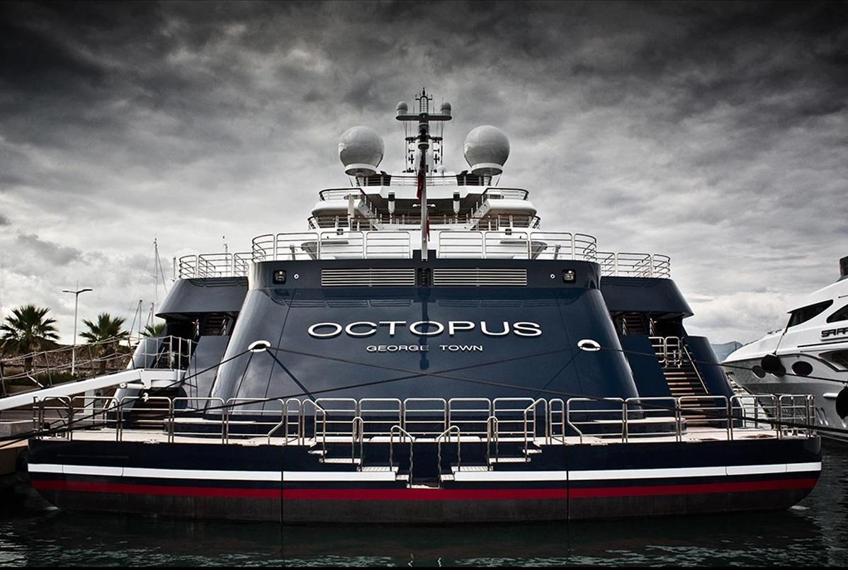 Mega Yacht Octopus