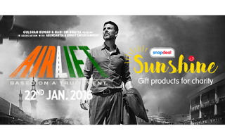 Snapdeal Sunshine - Gift Products for Charity