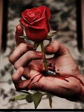 He nacido para recoger las rosas del camino de la muerte.