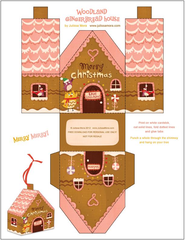 Decoration De Noel En Carton Imprimer