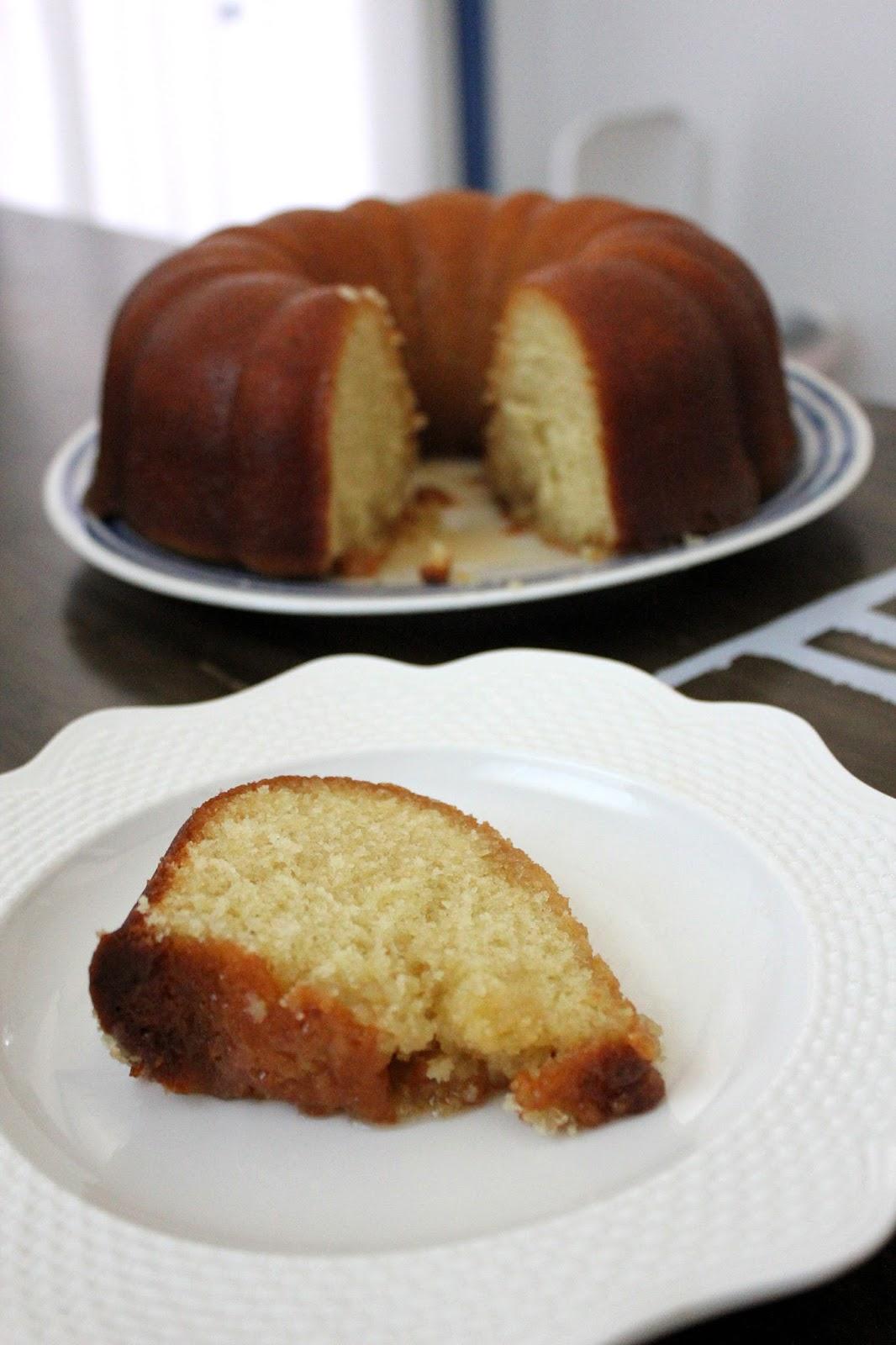 Recipe for Kentucky Butter Cake by freshfromthe.com