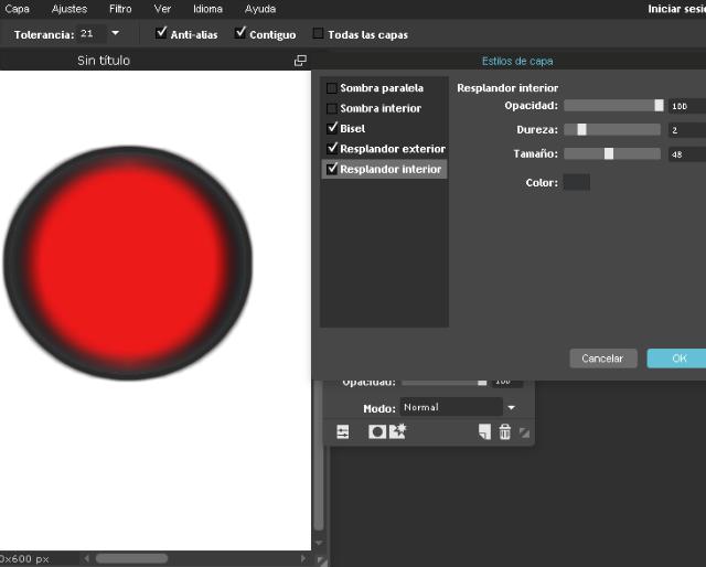 Crear botones redondos en 3D rápido fácil y gratis