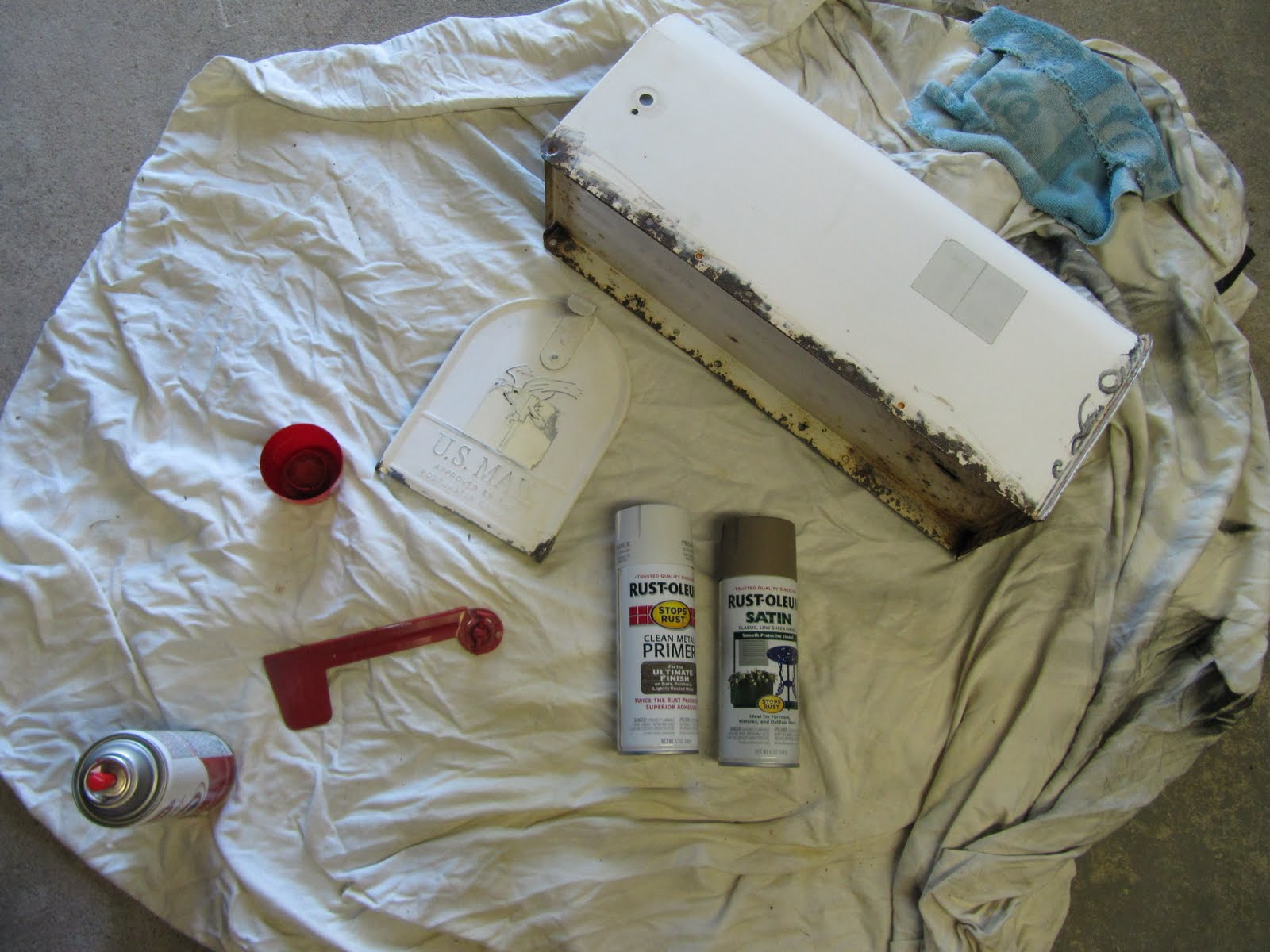 painting over rusted baseboards for bathrooms