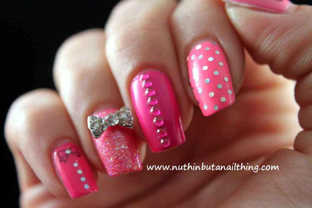 Nuthin But A Nail Thing It S All About The Pink