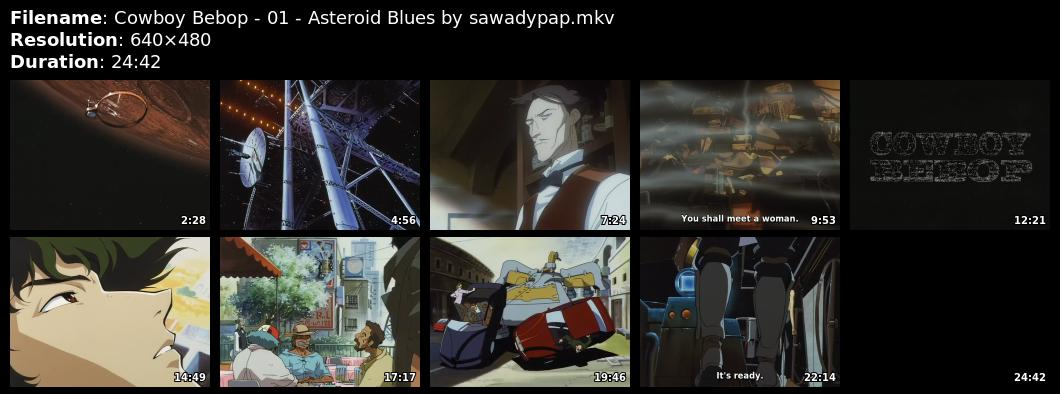 Cowboy bebop 01 asteroid blues - 1 6