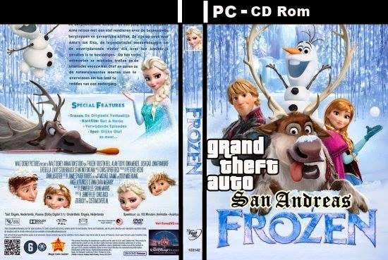 Download GTA San Andreas Queen Elsa Frozen Version (2014) 1GB HD