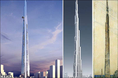 World's Tallest Tower to a height Of One Kilometer