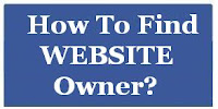 How To Find Website Owner?