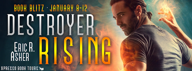 Book Blitz:  Destroyer Rising by Eric Asher