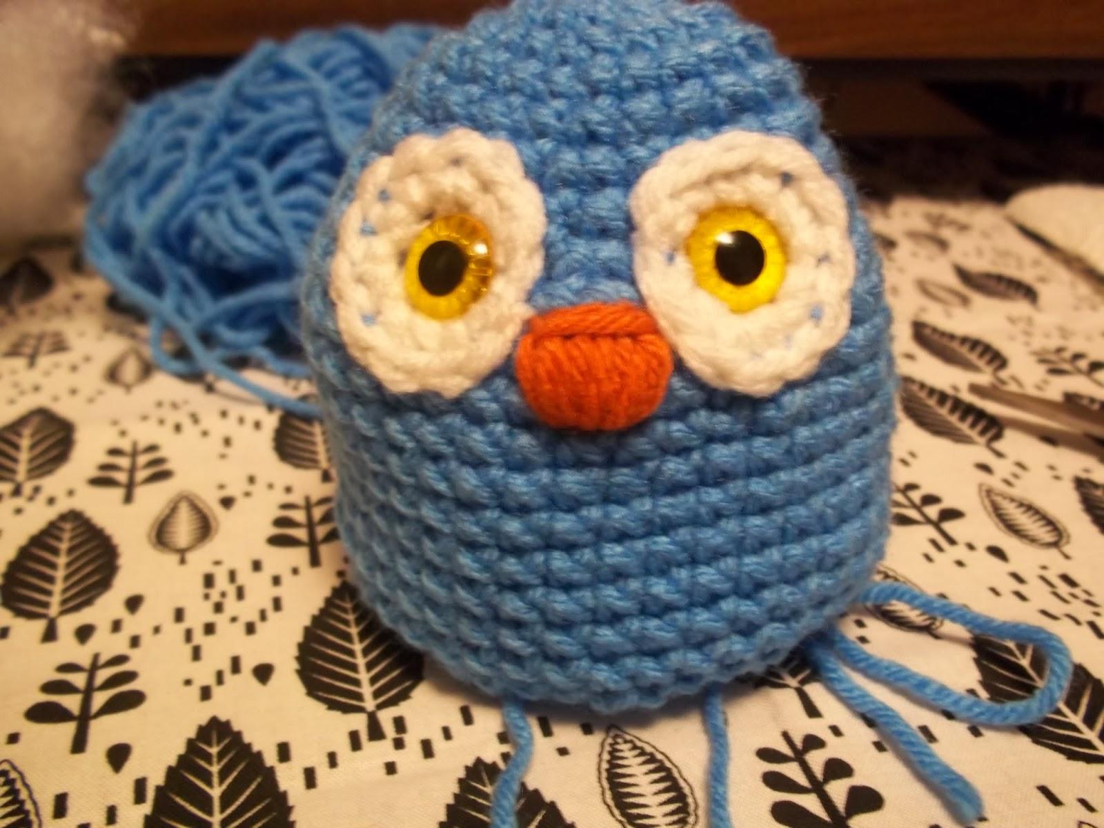 Amigurumi Owl Beak : Eden is only a dream away: Crochet Owl Amigurumi Pattern