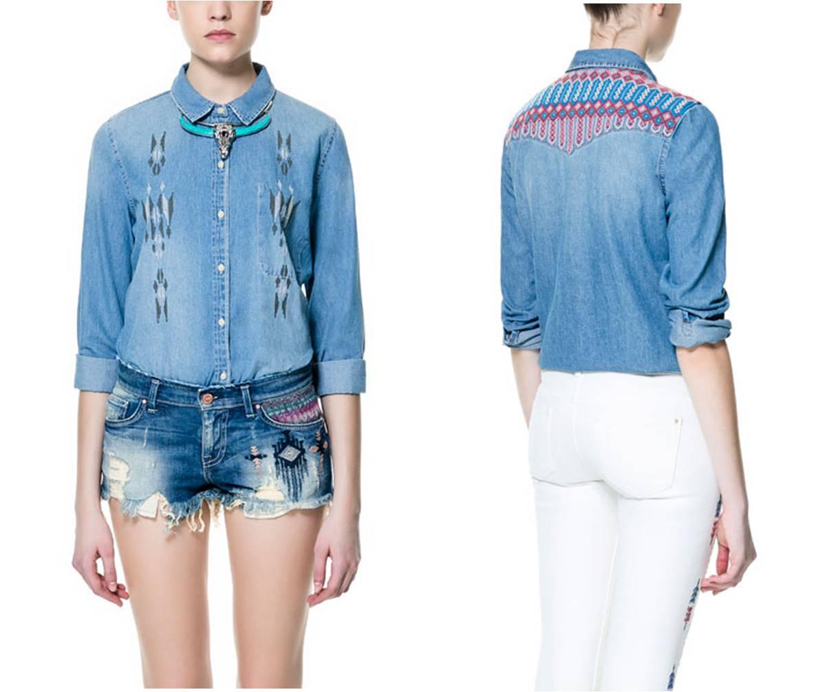 le moleskine de capucine l 39 indispensable chemise en jean. Black Bedroom Furniture Sets. Home Design Ideas