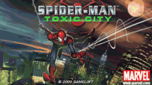 spider man toxic city s60 v5, spiderman hd games for nokia symbian, 640x360 resolution games for nokia s60 v5 symbian phone