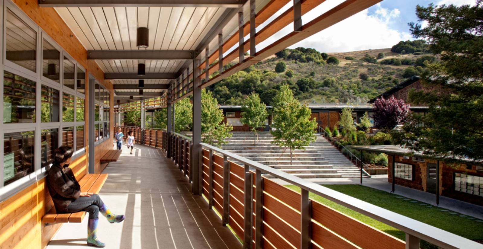Marin Country Day School By Ehdd Architecture A As