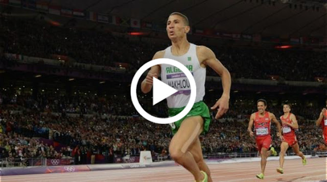 VIDÉO. Makhloufi 2e sur 800m au meeting de Zurich