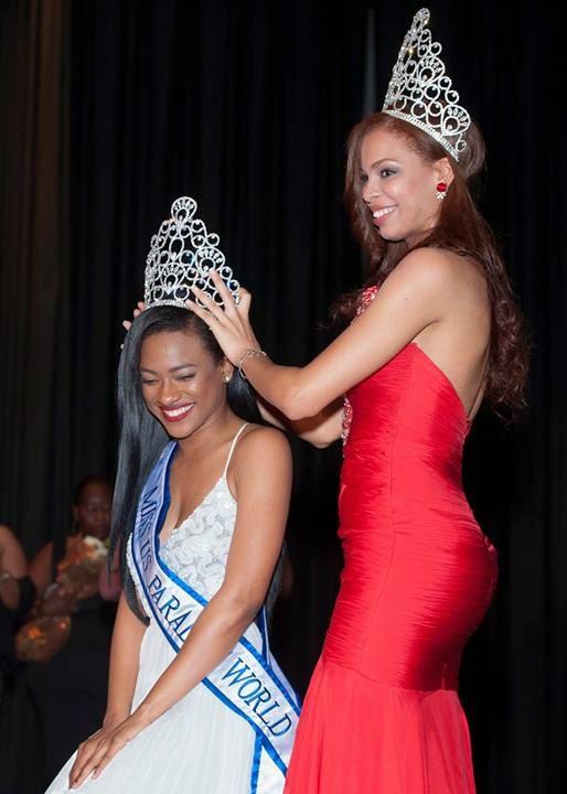 Miss US Virgin Islands Paradise World 2014 winner Aniska Tonge