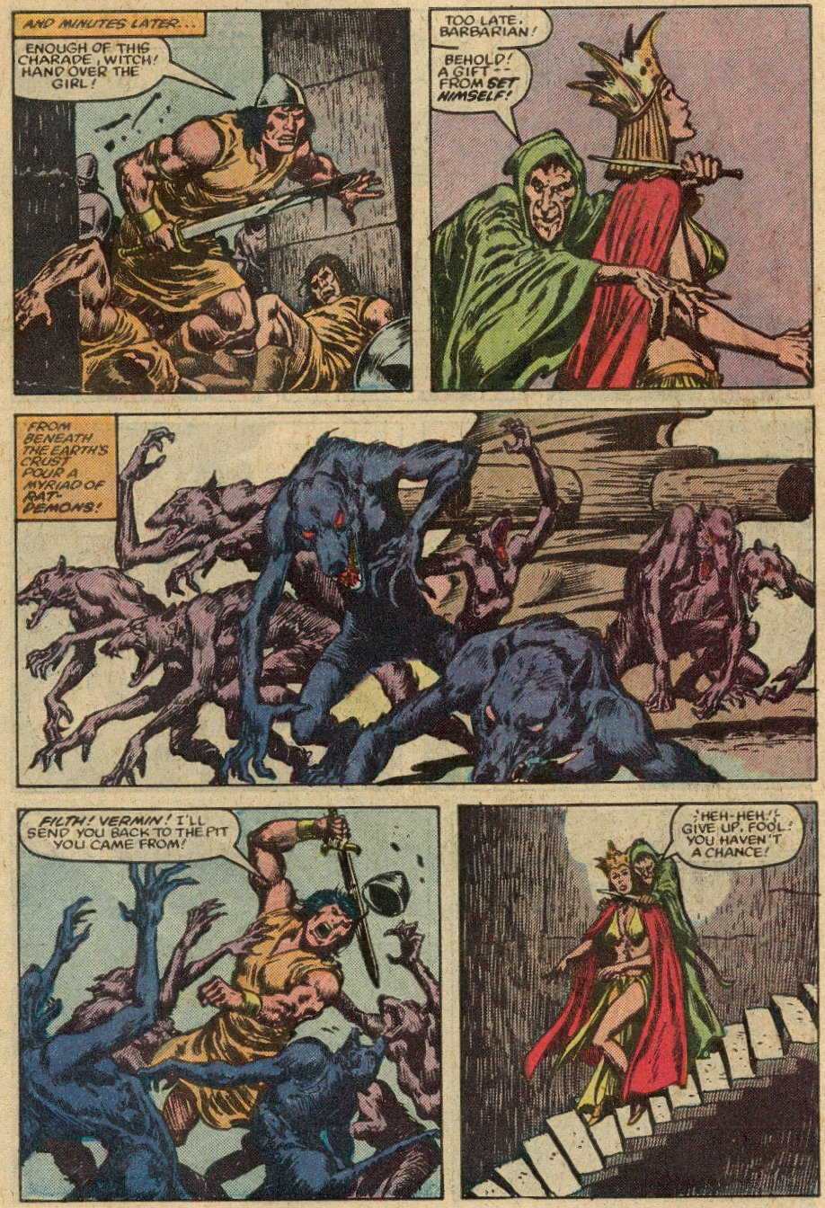 Conan the Barbarian (1970) Issue #147 #159 - English 22