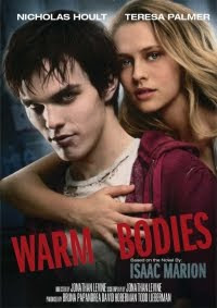 Warm Bodies movie starring Nicholas Hoult and Teresa Palmer.