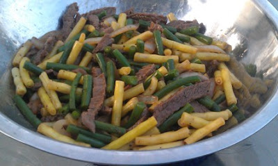 Make your own take out- Black Pepper Beef with Green Beans