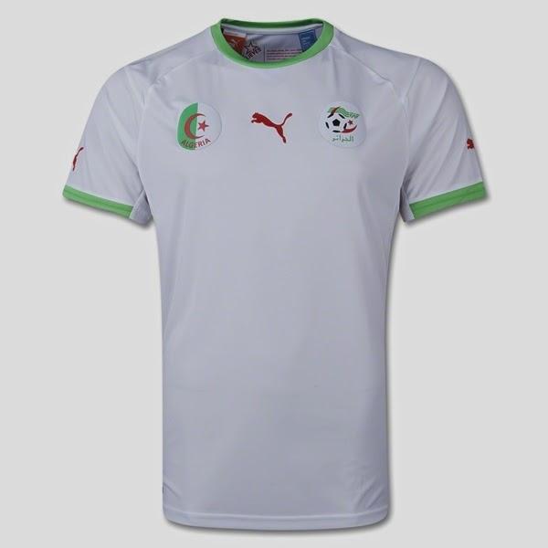 Jersey Piala Dunia 2014 Negara Algeria