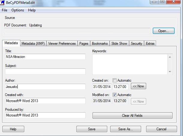 metadatos pdf