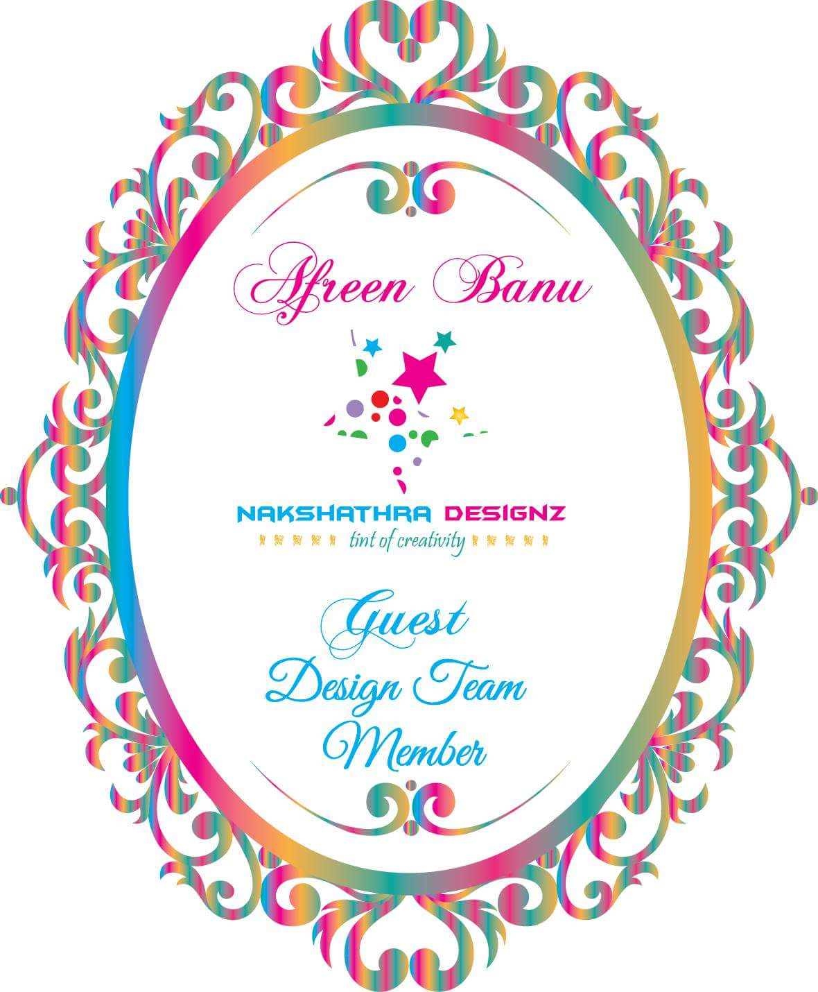Guest Designer at Nakshathradesignz