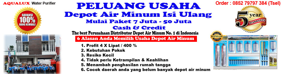 085279797384, Hanya 6jt Depot Air Minum Isi Ulang Sragen Aqualux