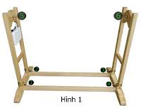 Hướng dẫn lắp ráp và sử dụng nôi gỗ em bé VinaNoi, lap rap khung noi