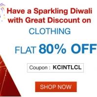 Kindercart Diwali Offer – Flat 80% OFF On Kids International Clothing