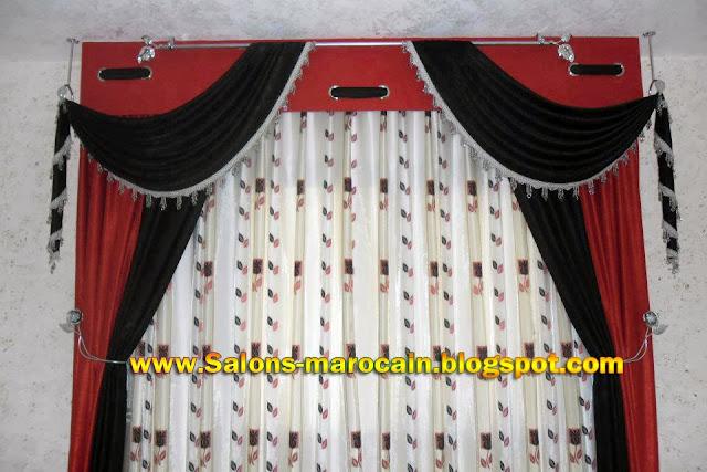 boutique salon marocain 2018 2019 cache rideaux. Black Bedroom Furniture Sets. Home Design Ideas