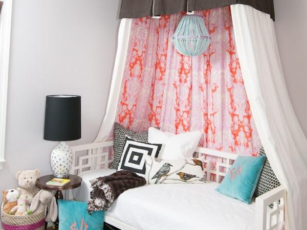 Un dormitorio muy chic
