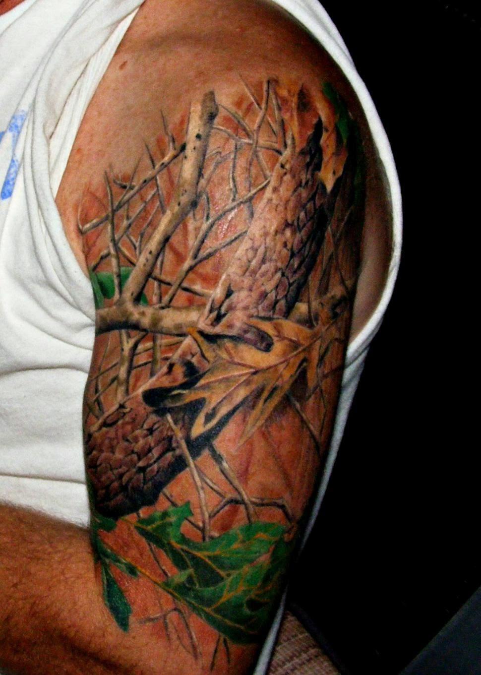 Татуировки про охоту фото