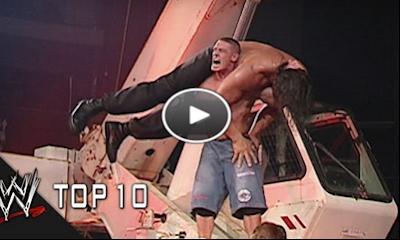"""بالفيديو شاهد أقوى 10 حركات لـ""""جون سينا"""" فى مصارعة المحترفين"""