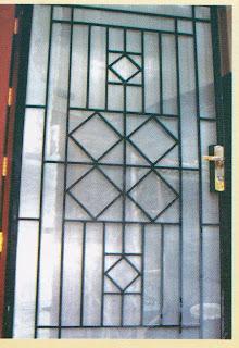 pusat teralis ,dan pintu teralis
