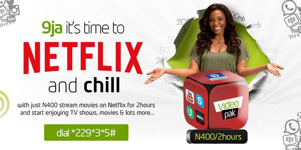 Etisalat Becomes The First To Offer Netflix Package In Nigeria, N400 For 2hours