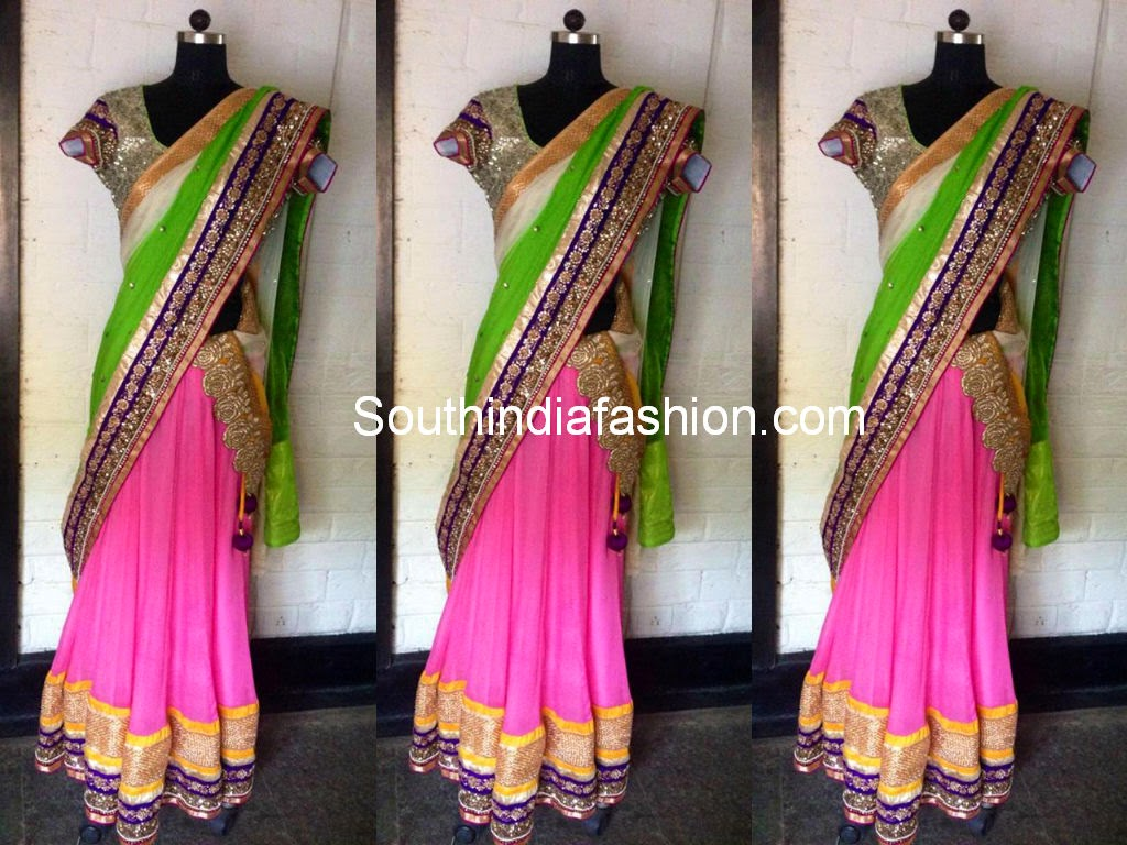 boutique half sarees