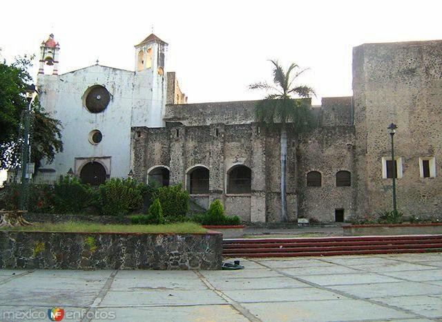 fachada del Ex Convento de Santo Domingo, Oaxtepec